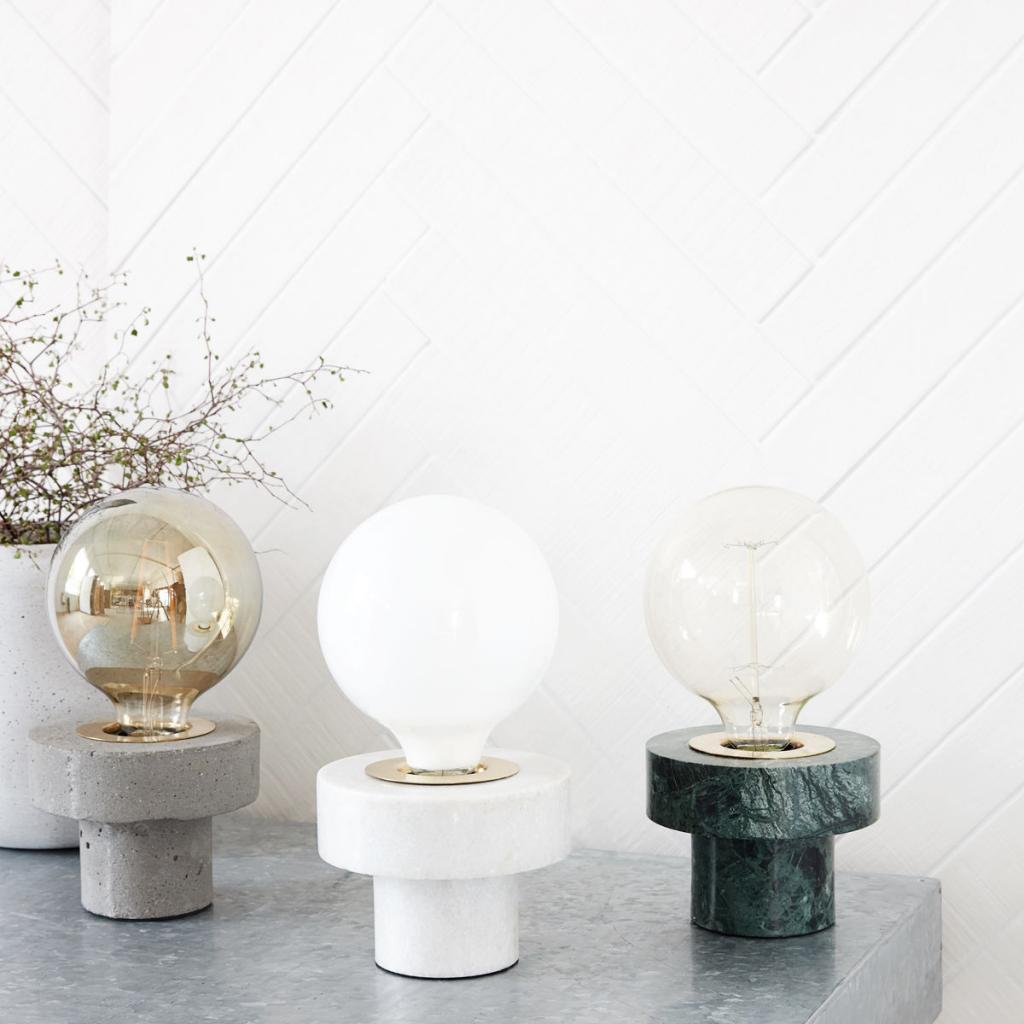 marmer lamp house docter via designwonen
