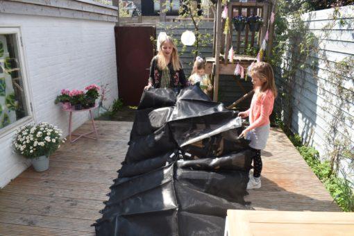 Verrassend Slimme trampoline in kleine stadstuin - Keeponstyling YT-33