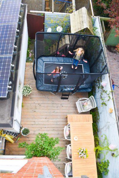 Welp Slimme trampoline in kleine stadstuin - Keeponstyling EA-33